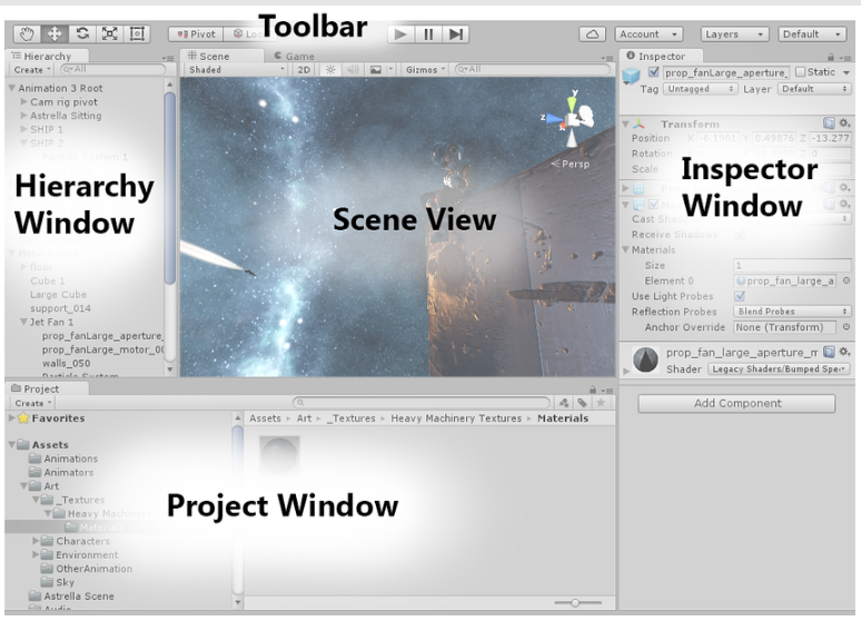 Understanding Unity 3D and its Features | Studytonight