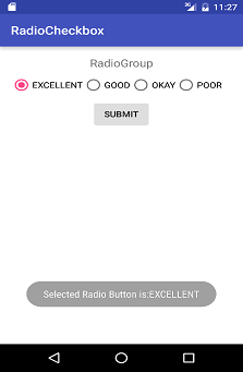 Using Radio Button and Check Box in Android | Android