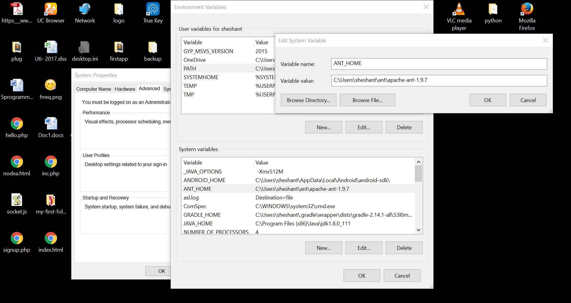 Required Tools Installation   Apache Cordova Tutorial