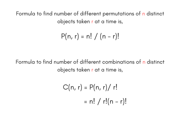C Program to Calculate Permutation (nPr) and Combination (nCr) | C