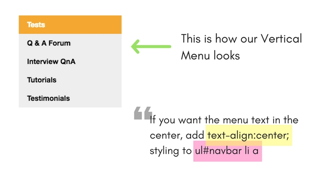 Creating Navigation Bars with CSS Lists | CSS Tutorial