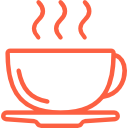 Red color Java Logo