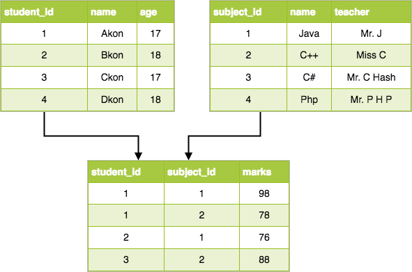 Database Models in DBMS | Studytonight