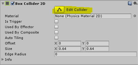 Unity 3D - Handling Collisions of GameObject using Collider2D