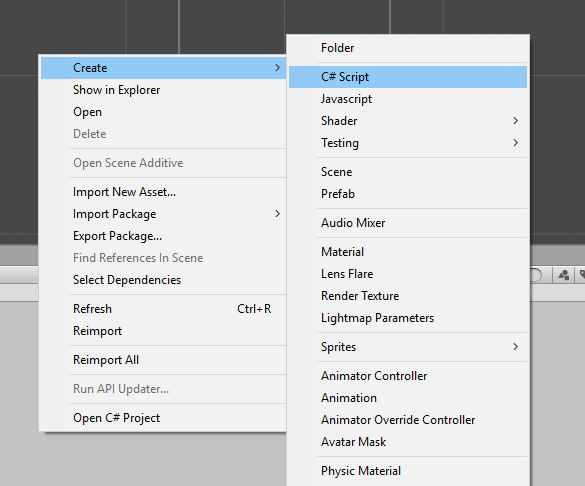 Adding a C# Script to our Unity Game Project | Studytonight