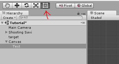 Adding Simple UI Elements to Game Canvas in Unity 3D | Studytonight