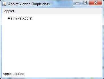 Applets in Java | Core Java Tutorial | Studytonight