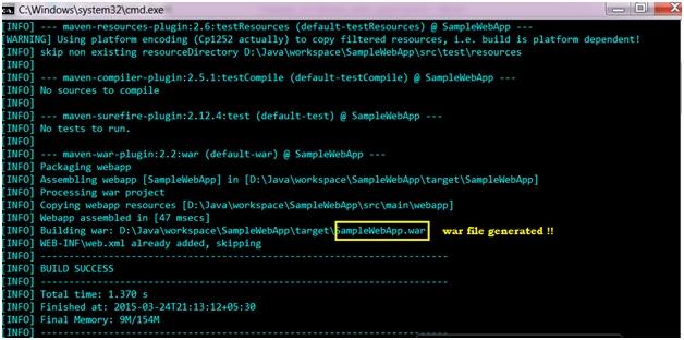 Creating Web Application in Maven | Apache Maven Tutorial | Studytonight
