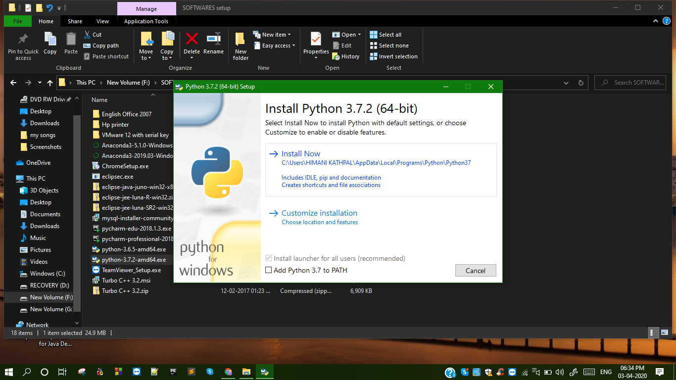 Getting Started With Python Studytonight