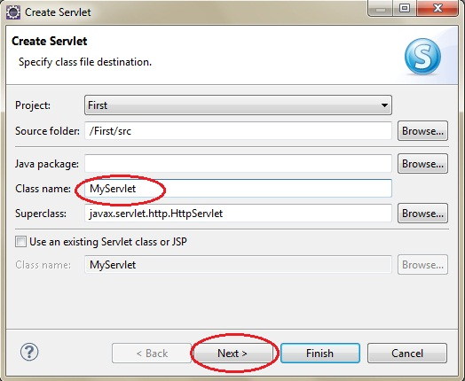 Steps to Create Servlet Application using Eclipse IDE