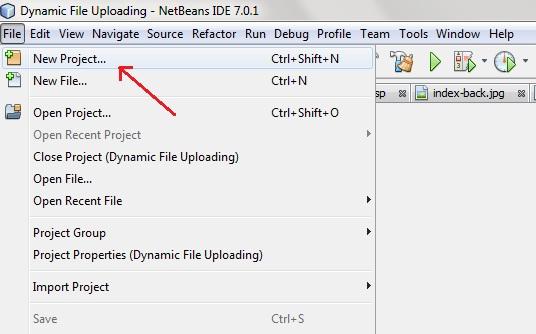 التعامل مع Java Servlets Steps-to-create-servlet-application-in-netbeans