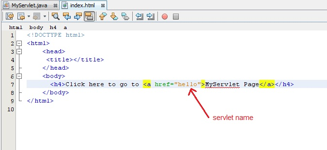 Creating First Servlet Application in Netbeans IDE | Studytonight