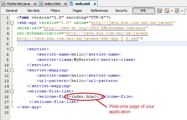 التعامل مع Java Servlets Steps-to-create-servlet-application-in-netbeans8