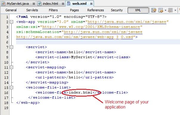 Creating First Servlet Application in Netbeans IDE