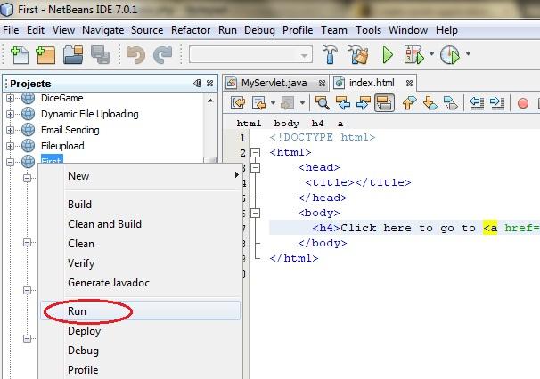 التعامل مع Java Servlets Steps-to-create-servlet-application-in-netbeans9